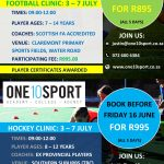 Image of Holiday Coaching Clinic - July 2017 (Southern Suburbs)