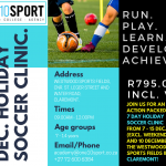 December Holiday Soccer Clinic in Cape Town