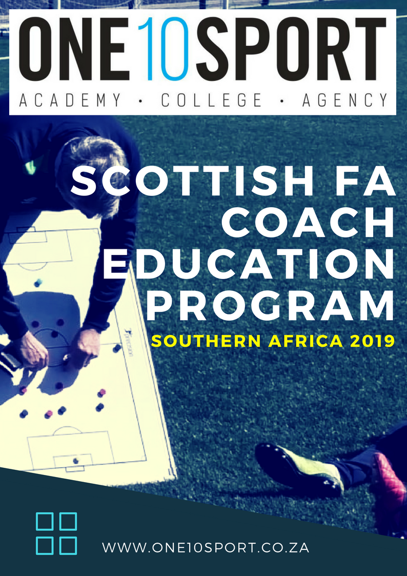 Scottish Football Association Coaching Courses in South Africa 2019