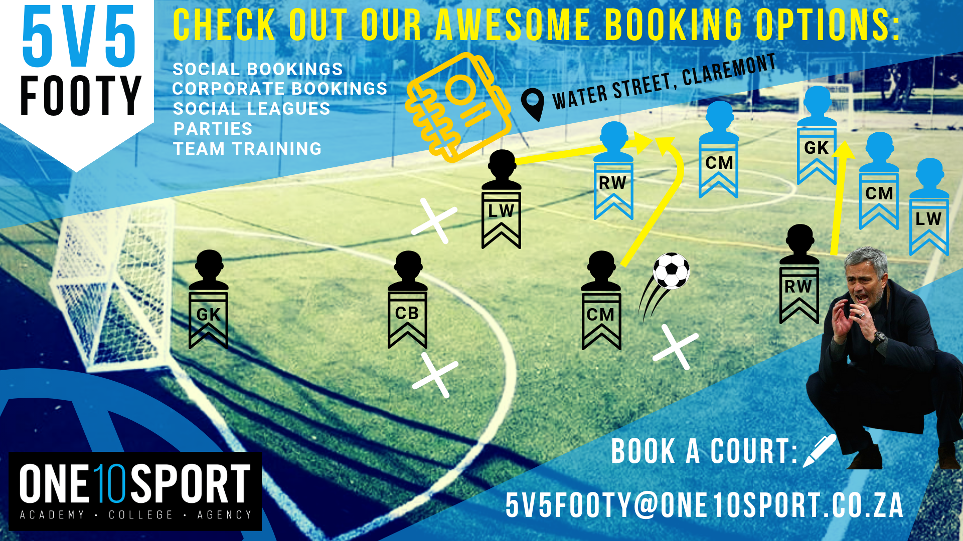 Five a side football in the Southern Suburbs (Cape Town)