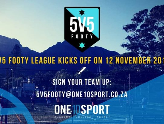 League Registrations for Five-a-side Football