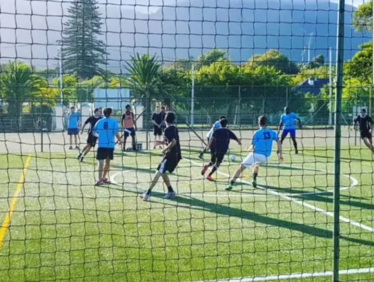 Five-a-side football in Cape Town's Southern Suburbs: