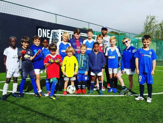 The March 2019 Holiday Soccer Clinic Kick's-off