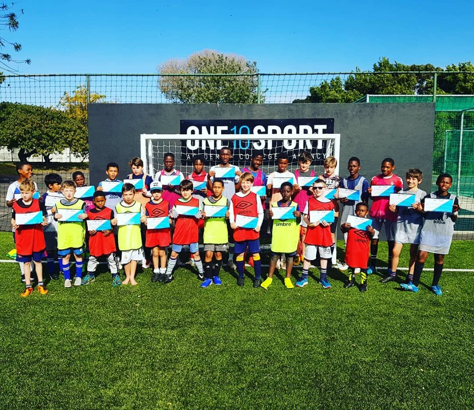 Holiday Soccer Clinic in the Southern Suburbs, Cape Town - March 2019