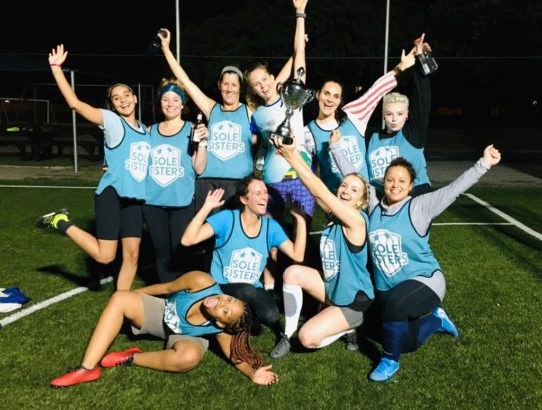 Sole Sisters clinch second league title