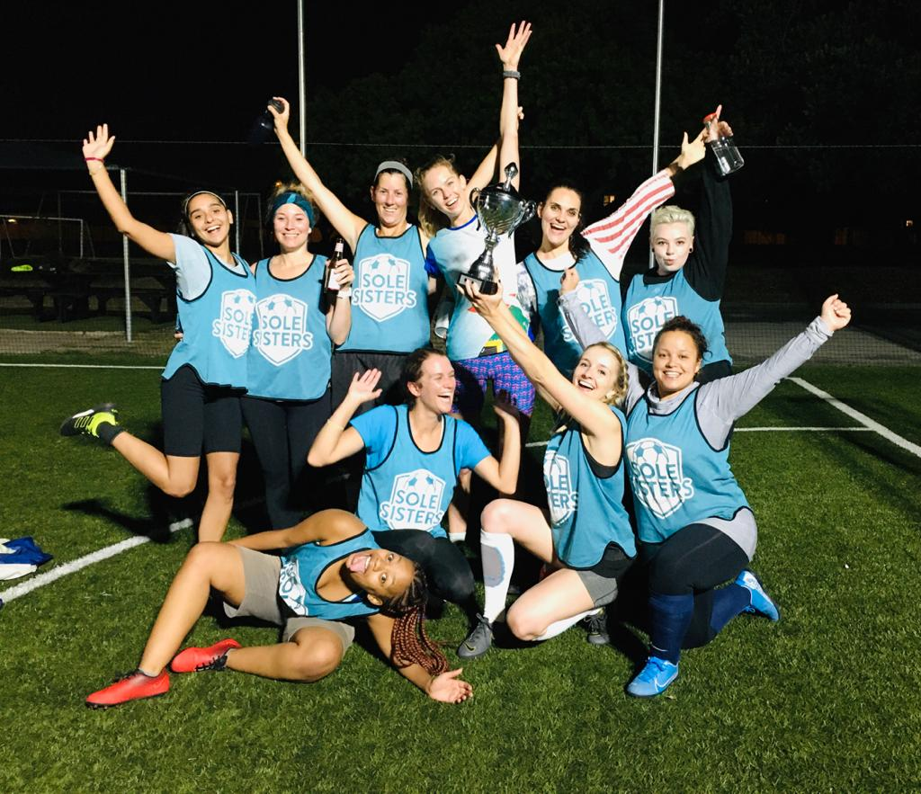 Sole Sisters clinch second league title.