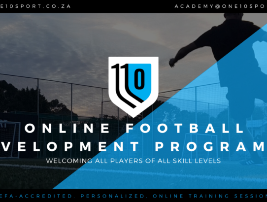 ONE10SPORT Online Football Development Programme