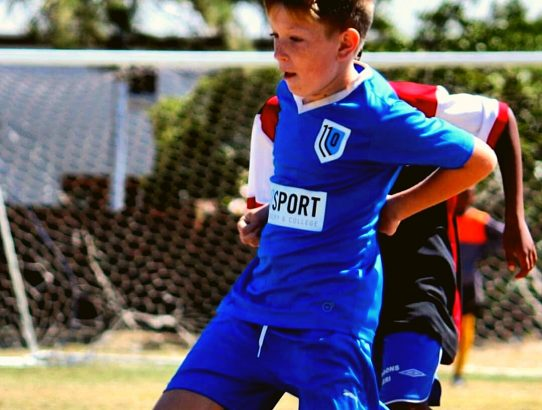 Matthew Dawson (U12) in action. ⚽