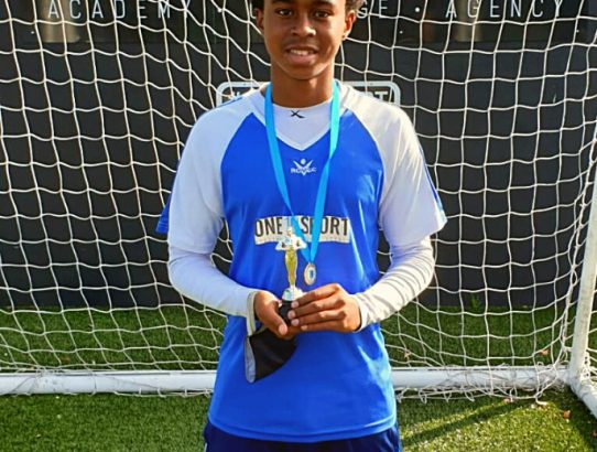 ONE10SPORT's Most Improved Player of 2020 goes to U16 player Joseph Sifumba. We were extremely impressed with the growth Joe displayed last year at the Academy. ⚽🏆