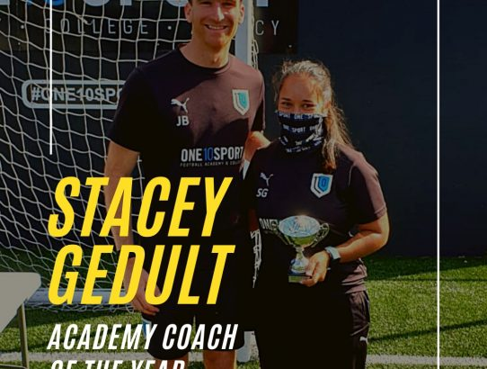 ONE10SPORT Academy Coach of the Year