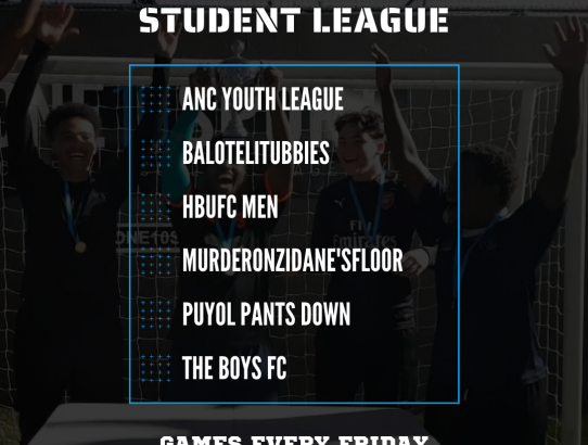 Student League Kicks Off!