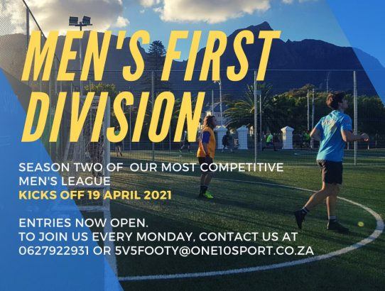 Five-a-side Season Two: Entries Now Open